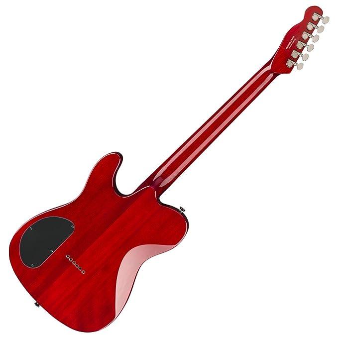 Fender Special Edition Custom Telecaster FMT HH - Diapasón Laurel, color rojo carmesí transparente: Amazon.es: Instrumentos musicales