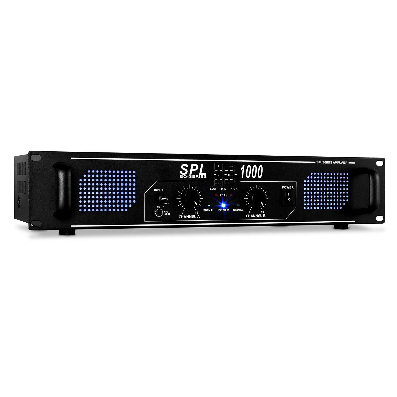 DJ-27 PA-Komplett-SET lautstarkes Musikanlage mit 2000 Watt PA-Boxen    Verstärker inkl. Kabel-Set + Mikrofon (für bis zu 250 Personen 624fa51b9ccbf