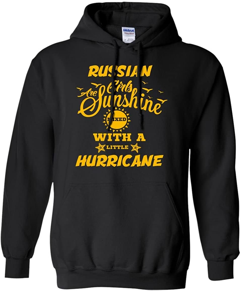 Russian Girls Are Sunshine Mixed With A Little Shirt Russian Hoodie