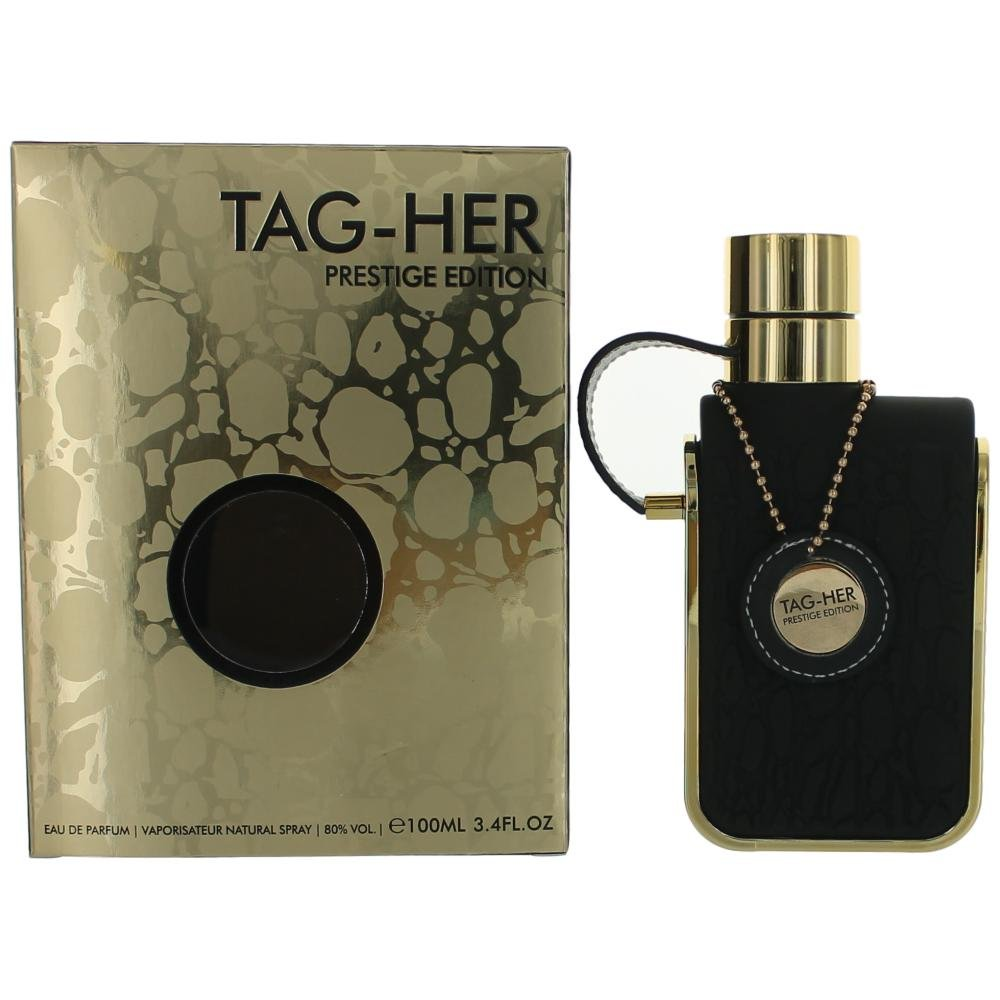 Tag-Her Prestige Edition by Armaf 3.4 Oz Eau De Parfum Spray for Women 34-tagprestige-w