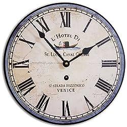J. Thomas Italian Hotel Wall Clock 24 - Made in The USA!