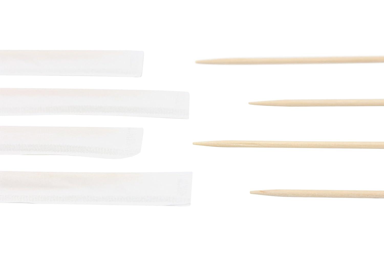 individuellement papier envelopp/é cure-dents Bois Nettoyer Prtemium cure-dents en bois de qualit/é 6.5/cm de long 1000/pcs