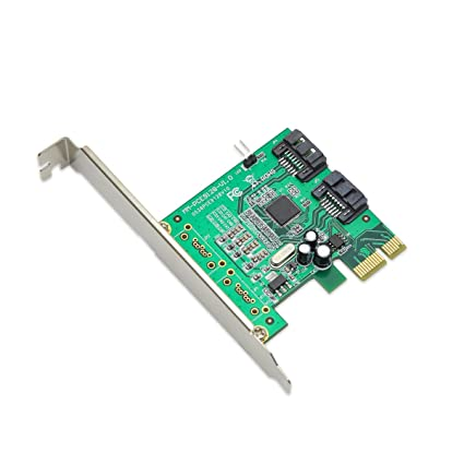 Syba - Tarjeta PCI-e (2 Puertos SATA III, Perfil bajo)