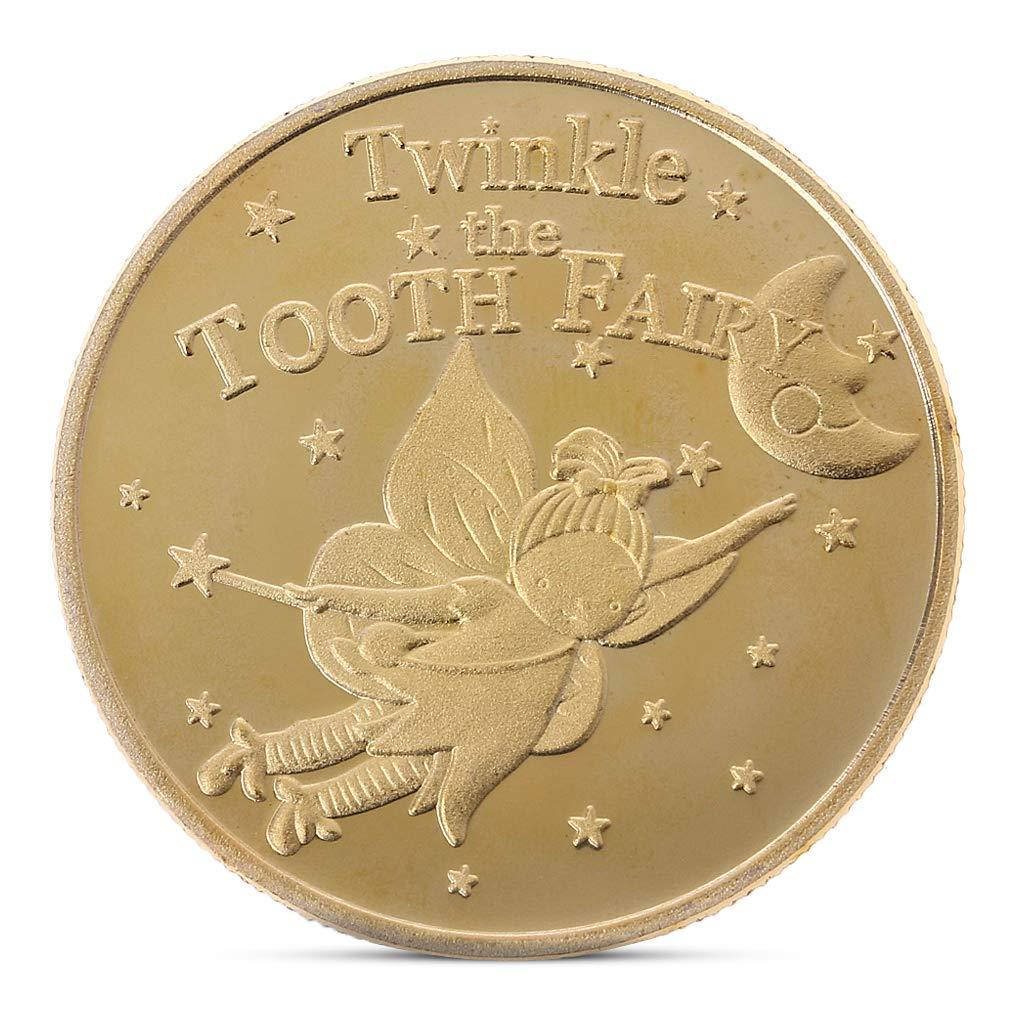 Roboco Commemorative Coin, Tooth Fairy Collection Gift Souvenir for Chlidren Gift