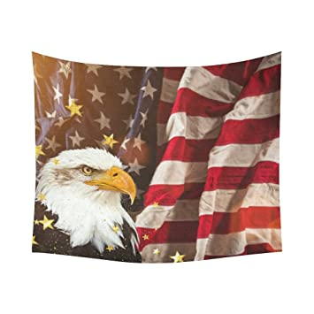 Amazon INTERESTPRINT Bird Bald Eagle Home Decor Tapestries Wall