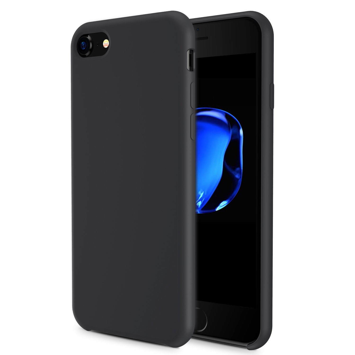 iphone 8 black rubber case