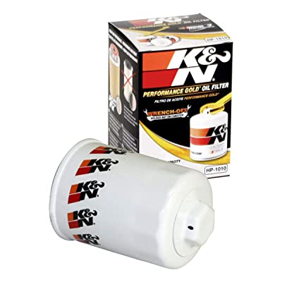 K&N Premium Oil Filter: Designed to Protect your Engine: Fits Select ACURA/HONDA/MITSUBISHI/NISSAN Vehicle Models (See Product Description for Full List of Compatible Vehicles), HP-1010: Automotive