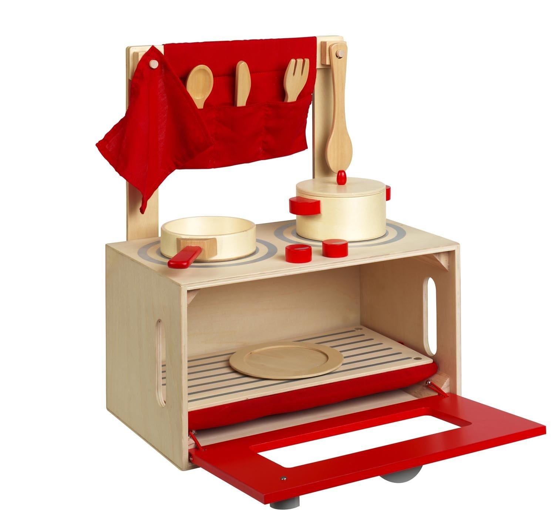KKids Toy Spielküche - Spielherd - Kofferküche