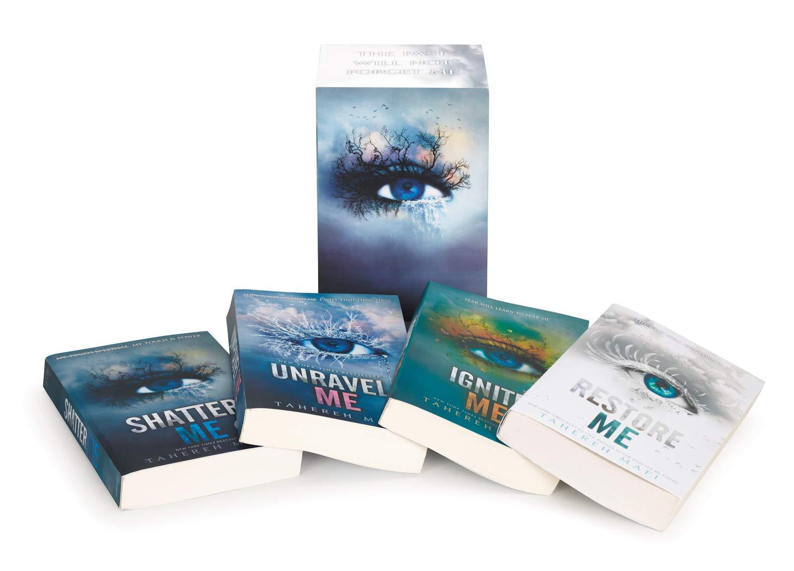 Shatter Me Series Paperback Box Set: Books 1-4