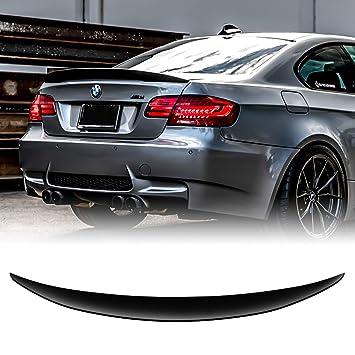 Alerón trasero de ABS para maletero de coche, color negro E92 3er Coupe, 06-13: Amazon.es: Coche y moto