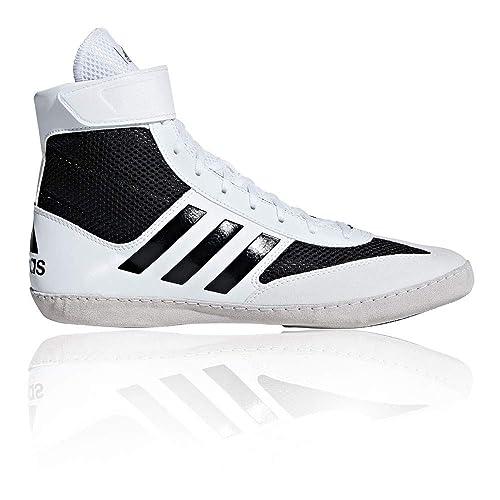 6350bf785c4 adidas Combat Speed 5 Wrestling Shoe - SS19 White  Amazon.co.uk ...