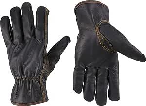 KIM YUAN Winter Warme Arbeitshandschuhe 3M Thinsulate Futter Perfekt f/ür Gartenarbeit//Schneiden//BAU//Motorrad M/änner /& Frauen