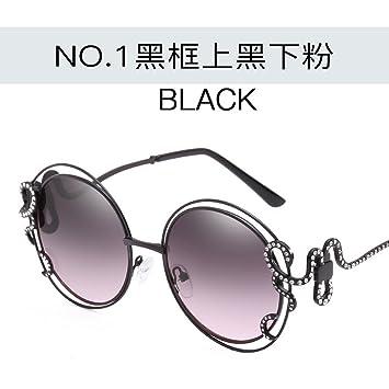 JUNHONGZHANG Personalized Sunglasses Diamond Sunglasses Round Frames ...