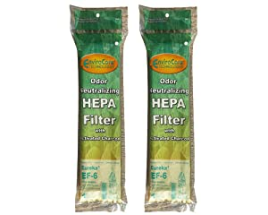 2 Eureka EF-6 #69963 HEPA Filter Airspeed Upright Vacuum Cleaner