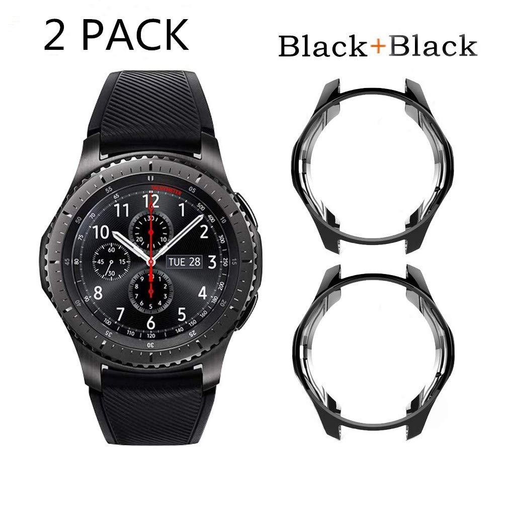 SUPORE Carcasa para Smartwatch Gear S3 SM-R760, a Prueba de ...