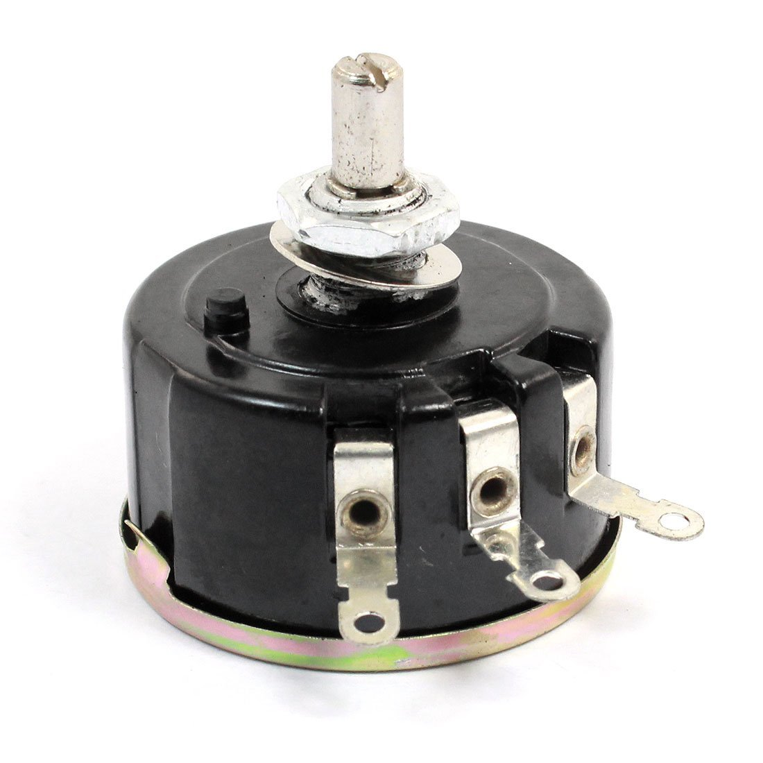6mm Shaft Single Turn Wire Wound Rotary Potentiometer 100 Ohm 5W 5Watt
