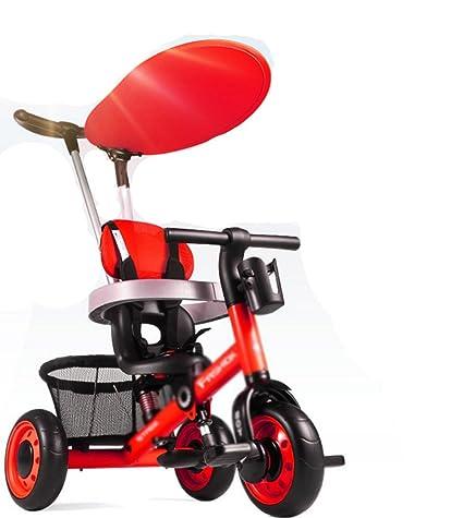 ZGP &Cochecito de bebé Triciclo para niños de 1 a 3 años ...