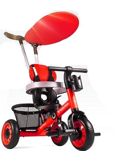 ZGP &Cochecito de bebé Triciclo para niños de 1 a 3 años Carrito de bebé Carrito