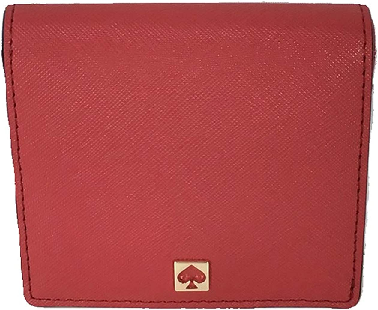 Kate Spade Cove Street Serenade Leather Mini Wallet Card Case, Red Carpet
