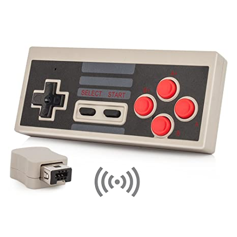 Nes Classic Wireless Controller Yccteam Wireless Controller Console Gamepad For Nintendo Nes Classic Mini Edition Gaming System With 2 4g Wireless
