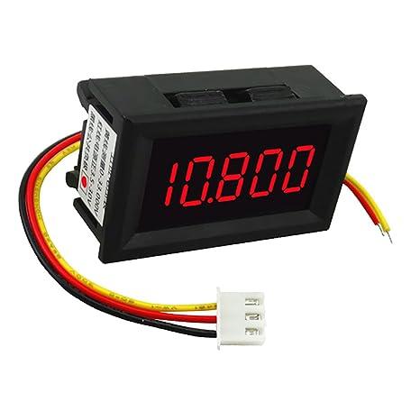 Schema Elettrico Voltmetro Per Auto : Magideal mini dc voltmetro digitale pannello campo di misura