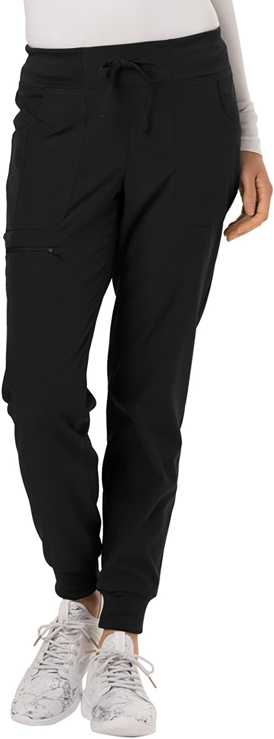 HeartSoul Break On Through Low Rise Scrub Jogger Pant HS030: Clothing