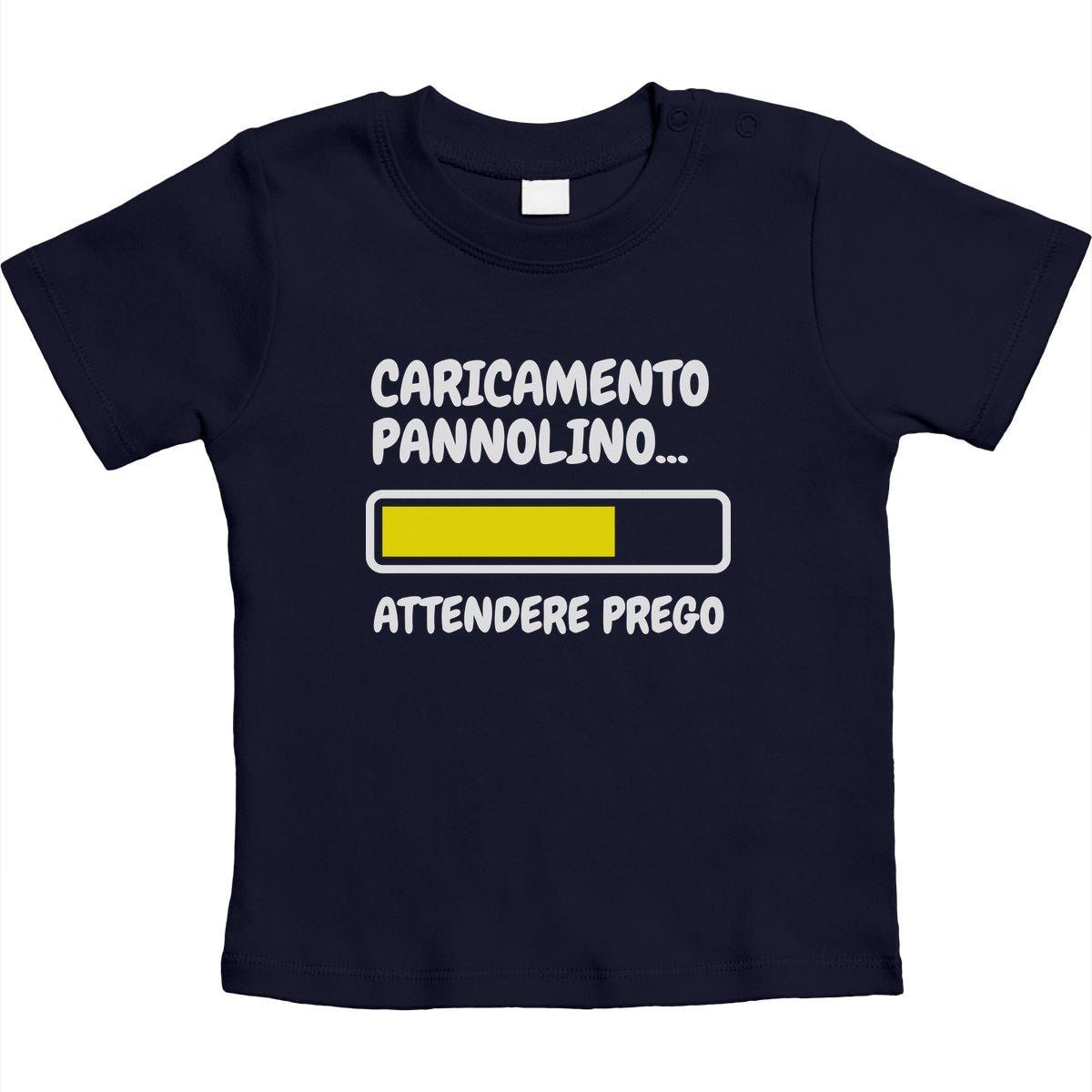Shirtgeil Caricamento Pannolino, Attendere Prego. Regalo Neonato Maglietta Neonato Unisex VlDCSCS68E1hhE