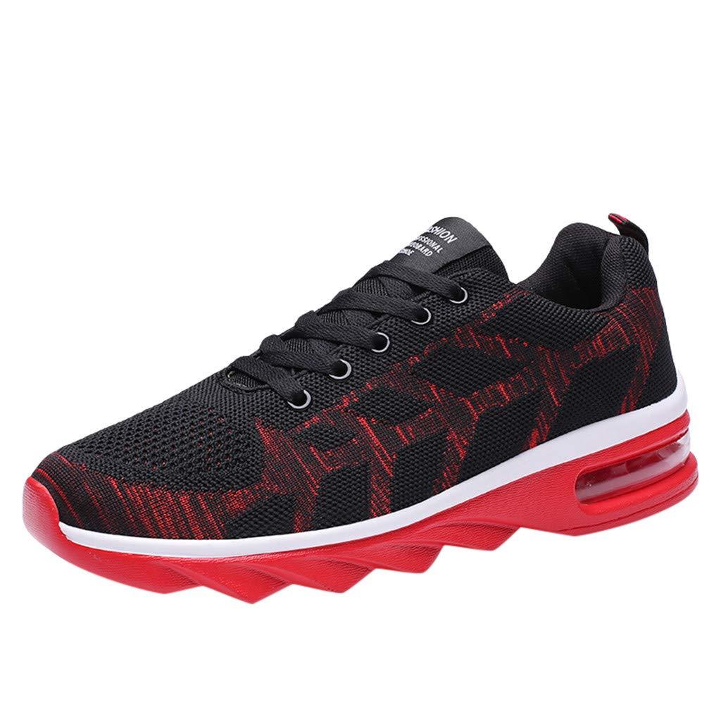 d887e9b114ca3 Amazon.com: 2019 Men Mesh Sneakers Lightweight Breathable Leisure ...