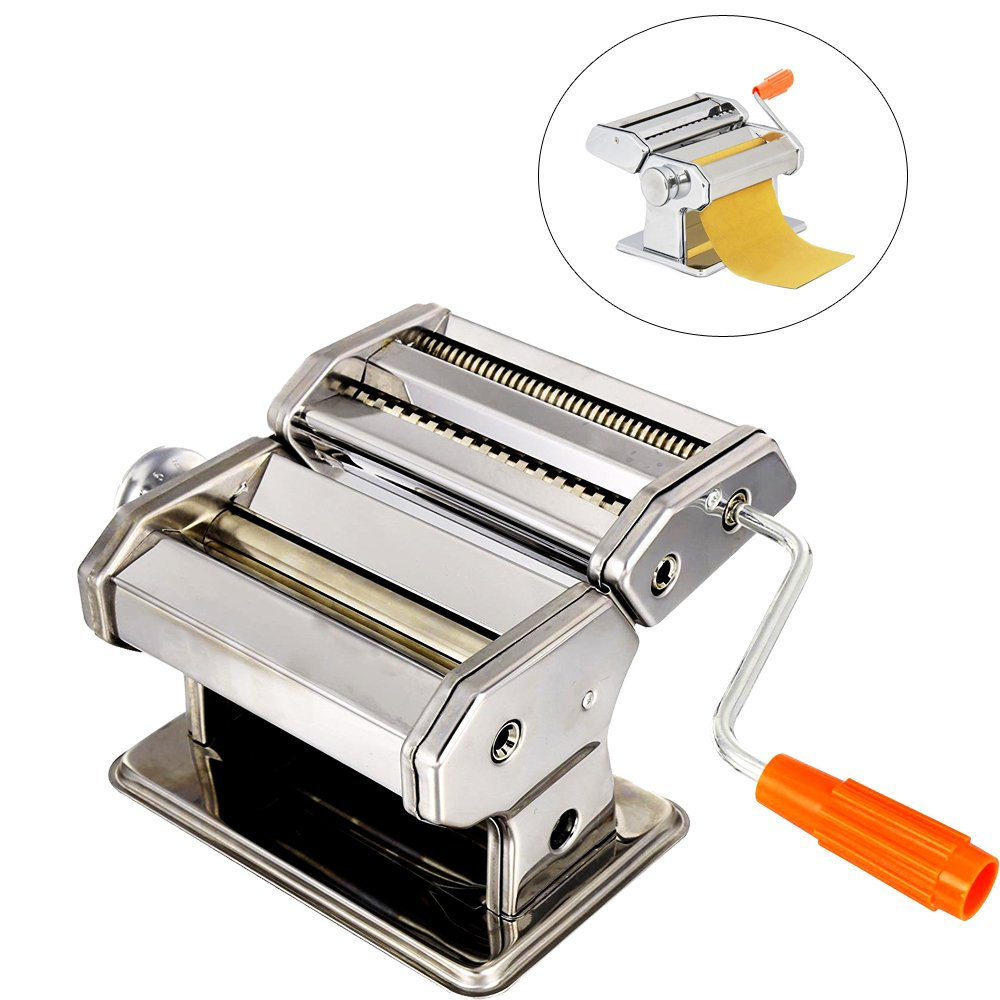 Removable Pasta Maker Dough Roller Press Machine Fresh Noodle Making Cooshional