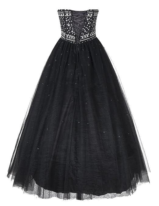 Dresstells reg reg; Long Ball Gown Prom Dress Maxi Quinceanera Dress Poofy Evening Gown: Amazon.co.uk: Clothing