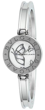2e58114eec1a [ブルガリ]BVLGARI 腕時計 B-zero1 ホワイトパール文字盤 BZ22BDSS.S レディース