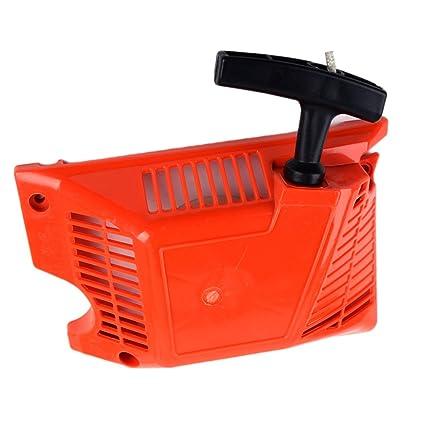 Pulsador de arranque de retroceso automático para motosierra China 4500 5200 5800 45 CC 52 CC