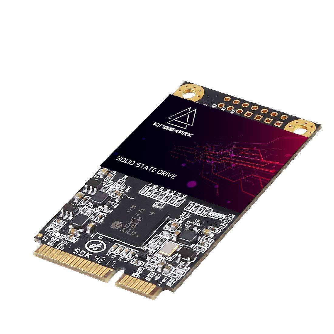 KingShark Msata SSD 480GB mSATA SSD 30 * 50MM Unidad de Estado ...