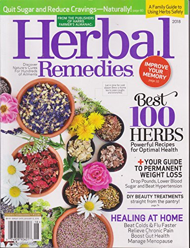 Herbal Remedies Magazine 2018 | Country Collectibles #118