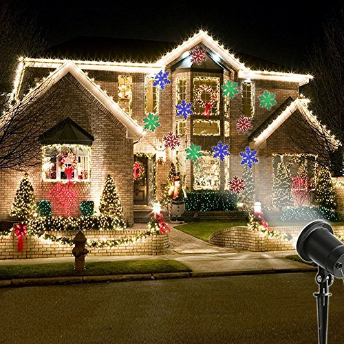 MareLight Christmas Decorations Projector lights