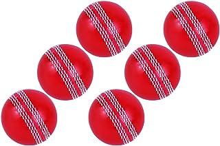 Kosma Windball Cricketball Set mit 6 Weichen Trainingsbällen für Sport und Freizeit