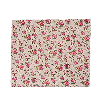 Tela de algodon retro de lino rosas liberty para tapizar sillas ...