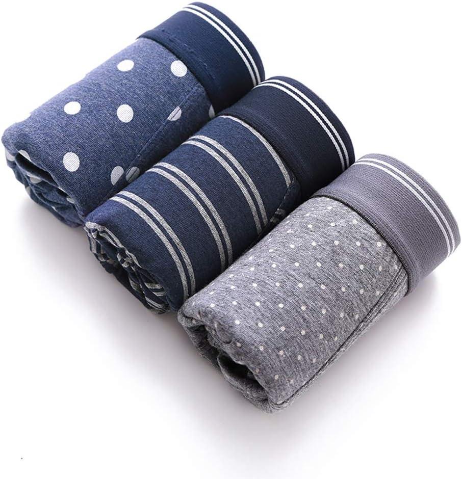 Color : A, Size : L ST apparel Casual Comfort Cotton Mens Boxer Briefs
