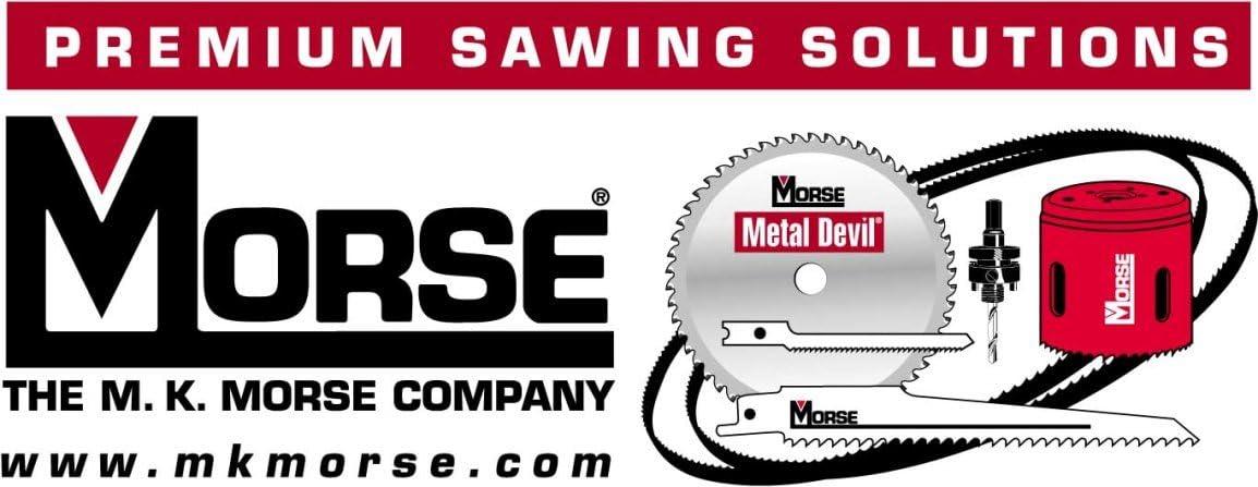MK Morse WSF1125 1-1//8-Inch Self-Feeding Wood Bit with Threaded Feed Screw Tip