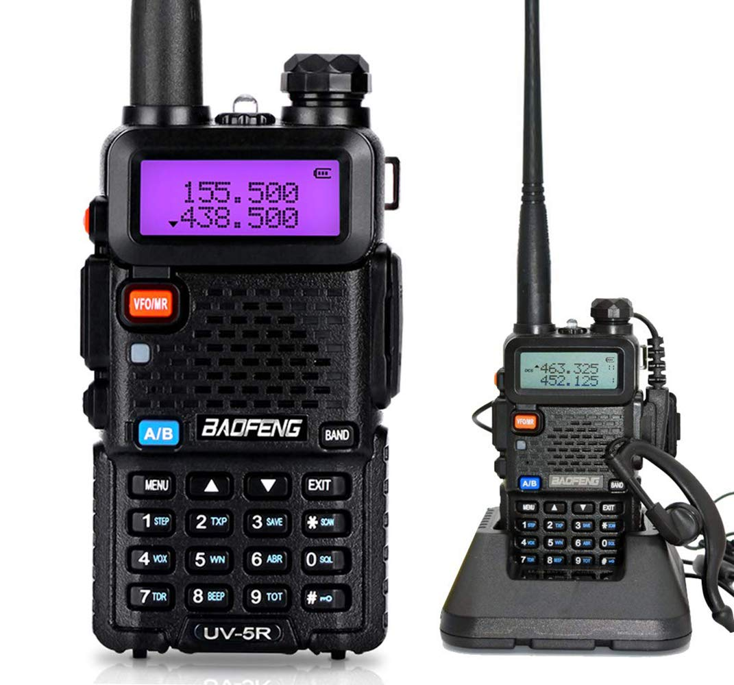 Mengshen UV-5R Radio Dab Walkie Talkie dise/ño de Camuflaje UV-5R Camo