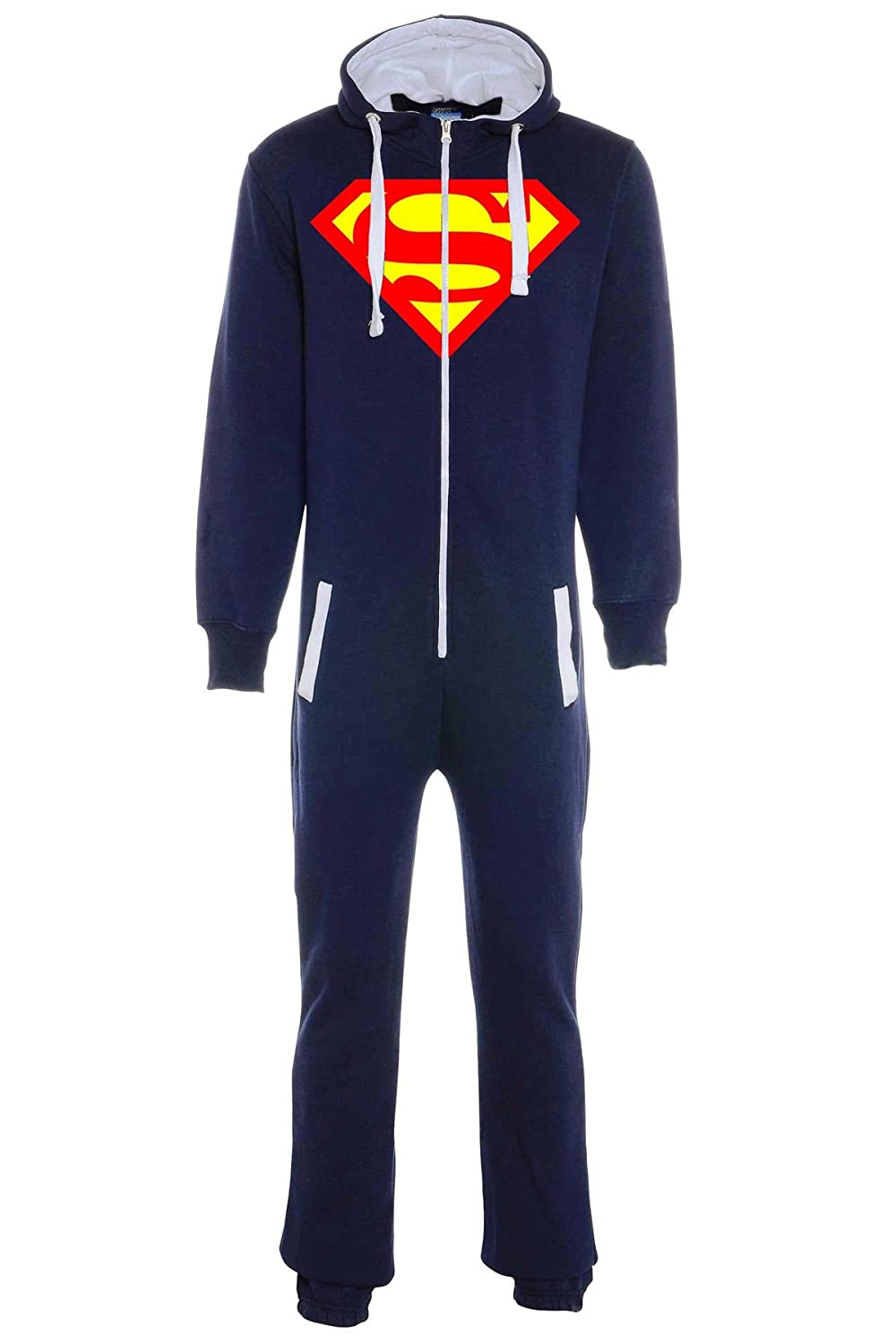 aejays Unisex Superman Printed Onsie Color Navy Blue Size L PAK MAN LTD