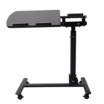 Paneltech Black Friday ajustable portátil ordenador portátil mesa plegable soporte de escritorio para cama sofá bandeja - negro: Amazon.es: Hogar