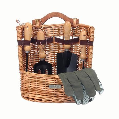 Amazoncom Picnic Beyond Willow Gardening Basket Picnic