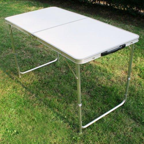 SPEED-Klapptisch-Campingtisch-Garten-Tisch-klappbar-Aluminiumlegierung-Feuerbrett-120605470CM-Wei-215103