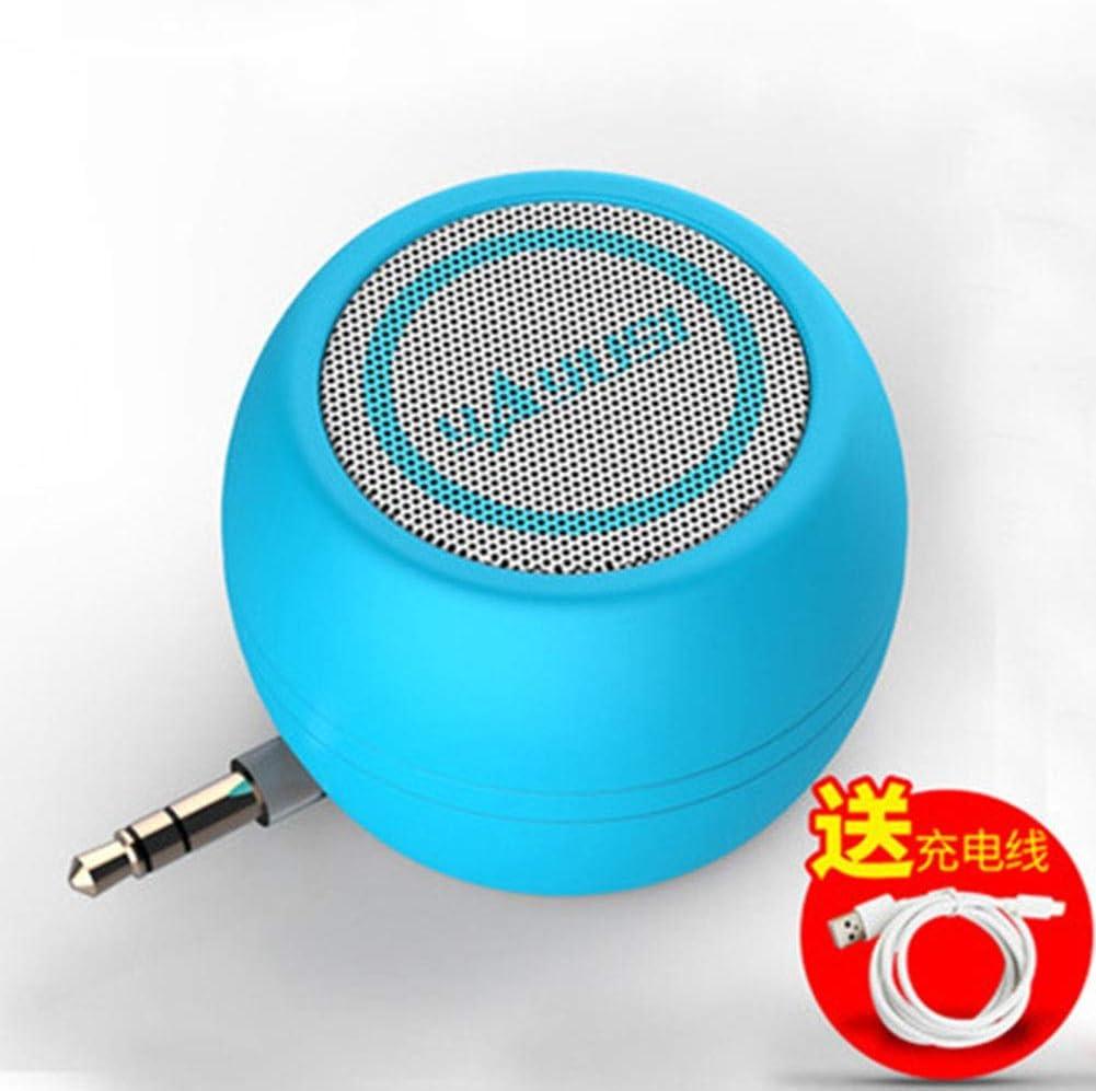 Externes Mikrofon Inline Audio Mini Lautsprecher Color Blau Audio Hifi