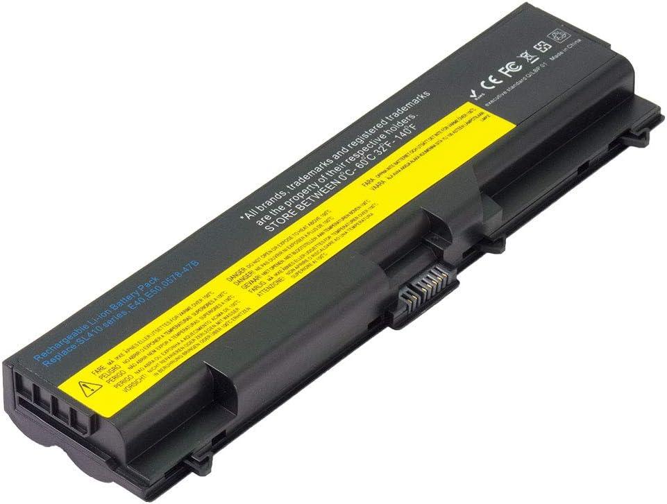 Battpit Laptop Battery Replacement for Lenovo ThinkPad T510 5584 4314 T520 T410 2522 Edge 15 0319 T510i 4484 8787 T410i 2518 T420 4238 IBM ThinkPad SL510 2847 Notebook Batteries 10.8V 4400 mAh / 48Wh