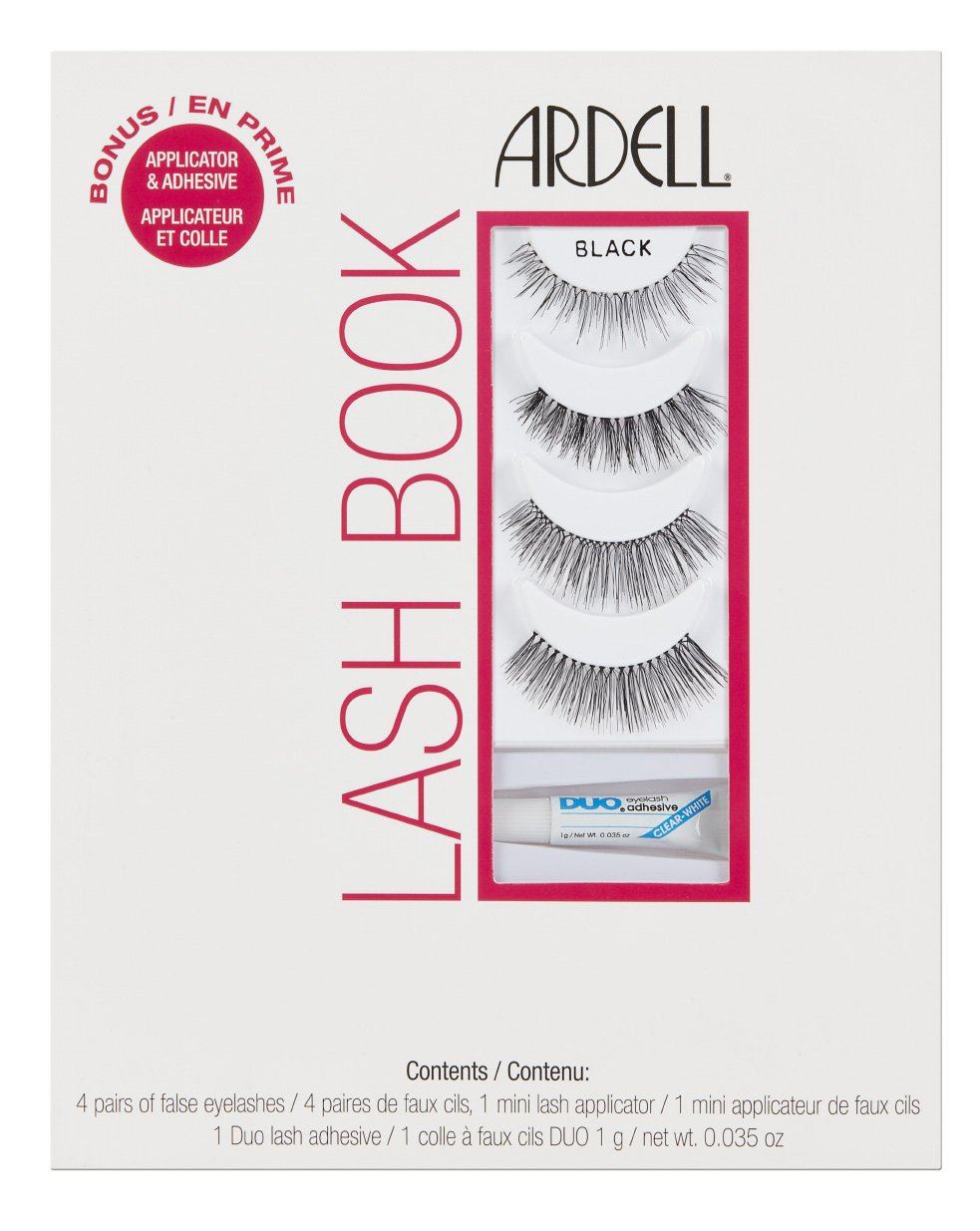 70b290b9349 Ardell Lashbook with Free DUO Glue: Amazon.co.uk: Beauty