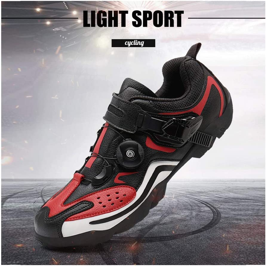 Zapatillas De Ciclismo De Montaña MTB Zapatillas De Triatlón Zapatillas De Ciclismo Zapatillas De Ciclismo Zapatillas De Hombre Zapatillas De Bicicleta De Montaña De Carretera,Red-46: Amazon.es: Hogar