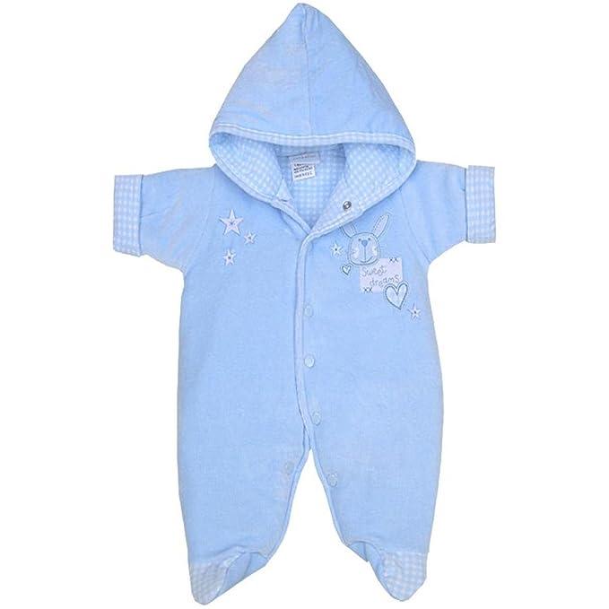 02a3503bd Babyprem Premature Baby Velour Snowsuit Pramsuit Sweet Dreams ...