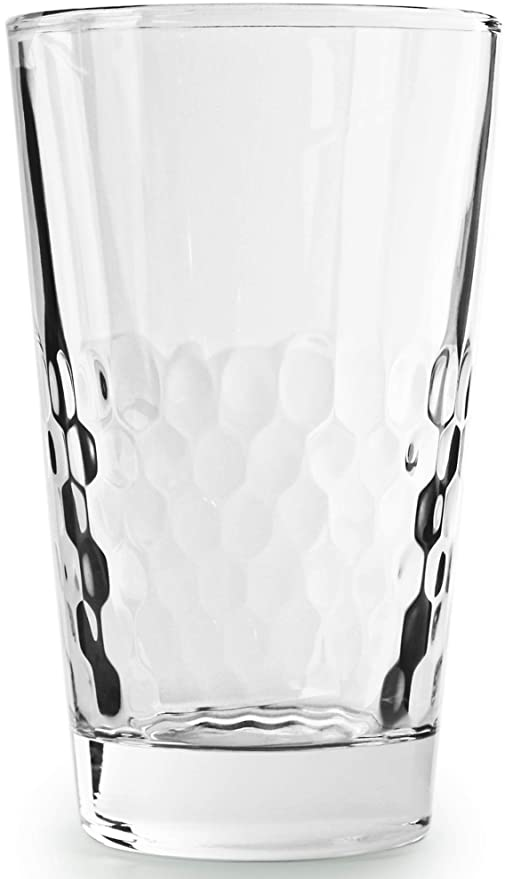 Circleware 45048 Rialto Heavy Base Highball Drinking Glasses Set of 4  Beverage Cups, Home Kitchen Tumbler Entertainment for Water, Juice, Milk,  Beer, ...